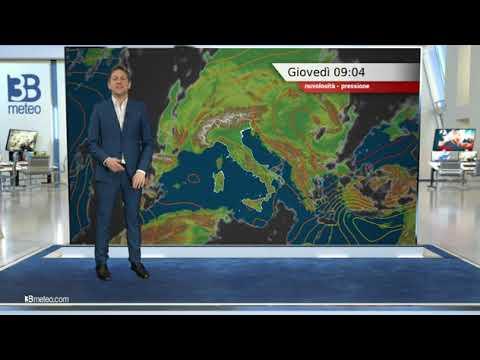 Previsioni meteo Video per giovedì, 25 febbraio