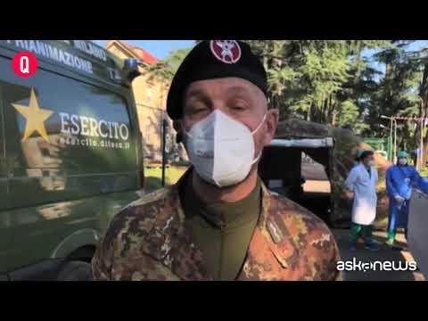 Milano, al Centro Ospedaliero militare l'hub vaccini della Difesa