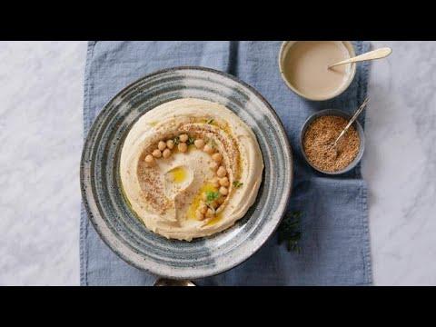 L'hummus di ceci: l'aperitivo perfetto pronto in 15 minuti