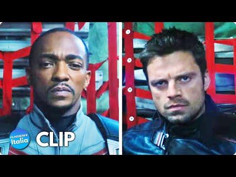 THE FALCON AND THE WINTER SOLDIER (2021) Clip sub ITA della serie tv Marvel