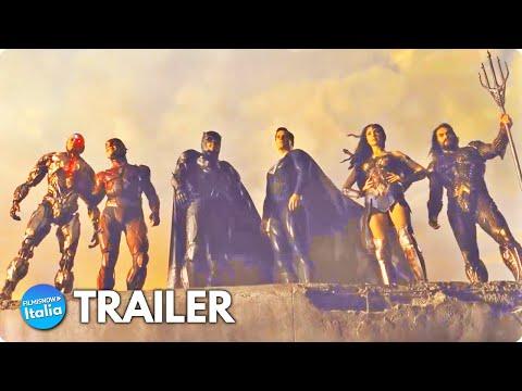 ZACK SNYDER'S JUSTICE LEAGUE (2021) Trailer Vo #2 del film con Gal Gadot e Henry Cavill