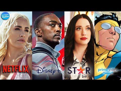 Le NOVITÀ in STREAMING di MARZO 2021   Netflix/Prime/Star/Disney +/Sky