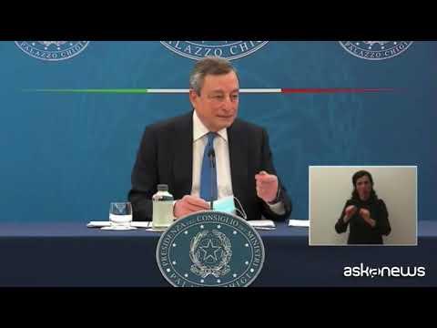 Draghi: Alitalia? Debito buono se andrà avanti sulle proprie ali