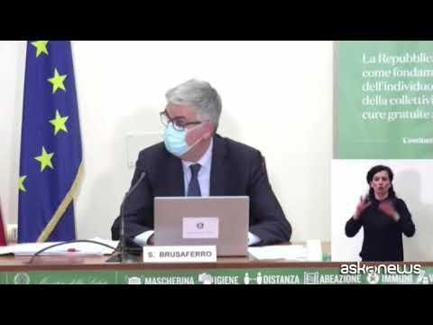 Iss, Brusaferro: casi diminuiscono lentamente, intensive critiche