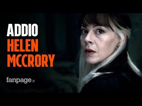 Morta Helen McCrory, è stata Narcissa Malfoy di Harry Potter e Polly Gray di Peaky Blinders