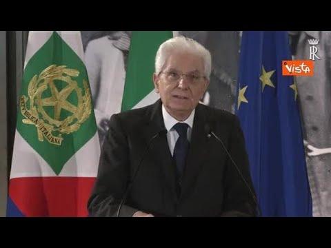 Mattarella: «Le libertà di cui godiamo sono frutto della resistenza»