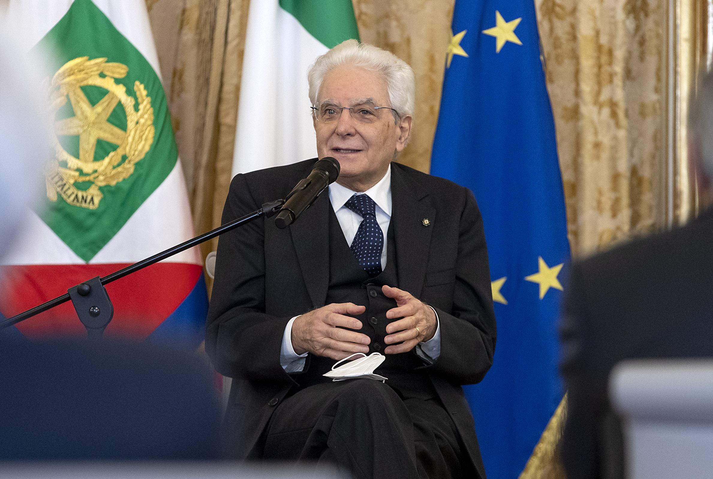 """Terrorismo, Mattarella """"Bersaglio era giovane democrazia parlamentare"""""""