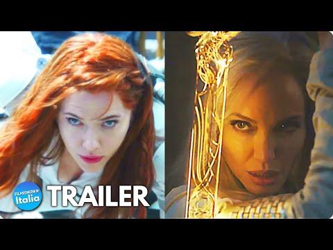 ETERNALS –  SPIDER-MAN: No Way Home – BLACK WIDOW (2021) Teaser Trailer delle Uscite Marvel