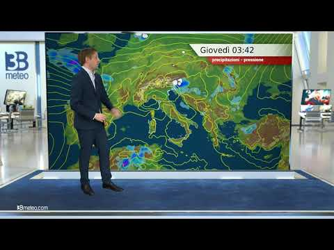 Previsioni meteo Video per giovedì, 06 maggio