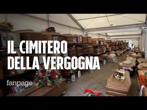 """Il cimitero della vergogna, 900 bare in attesa di sepoltura da un anno: """"Ci hanno chiesto 8mila euro"""