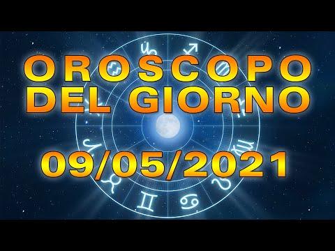 Oroscopo del Giorno Domenica 9 Maggio 2021!