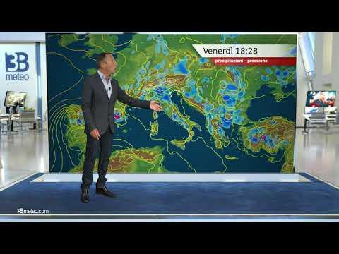 Previsioni meteo Video per venerdì, 11 giugno