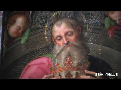 Mostra su Raffaello inaugurata al museo di Capodimonte a Napoli