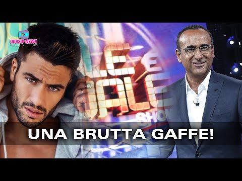 Tale e Quale Show: La Brutta Gaffe di Carlo Conti!