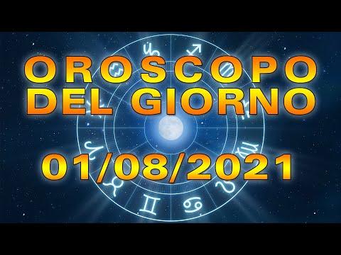 Oroscopo del Giorno Domenica 1 Agosto 2021!