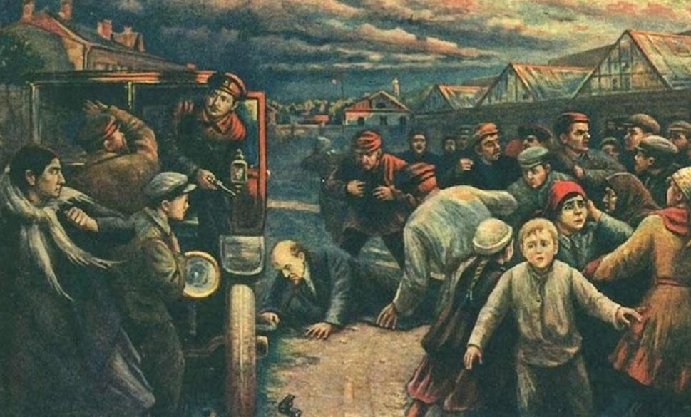 L'attentato a Lenin