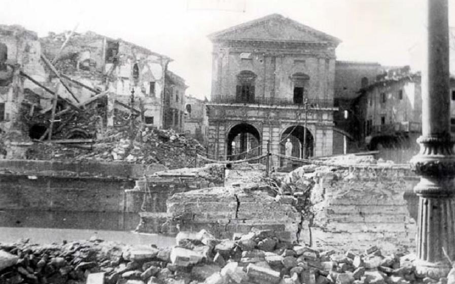 Il tragico bombardamento di Pisa