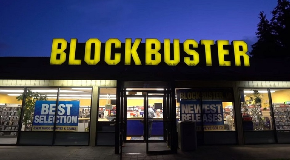 Blockbuster e l'era delle videocassette