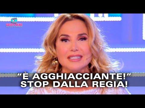 Barbara D'Urso Stoppata in Diretta TV! Ecco il Motivo!