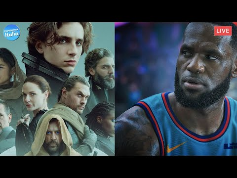 Space Jam e i film al cinema + Dune raggiunge le stelle   #CinemaChatShow