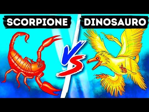 Ecco a Voi la Resa dei Conti tra il Dinosauro-Colibrì e lo Scorpione