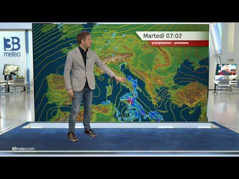 Previsioni meteo Video per martedì, 26 ottobre