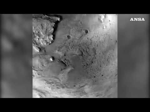 Nasa, l'atterraggio di Perseverance su Marte